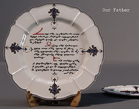 dishes Our Father - in Armenian 3D