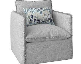 Freya Lounge Chair 3D model