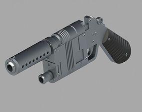 3D printable model NN-14 Blaster Pistol 1-6 Scale