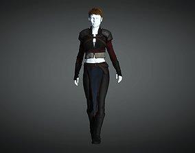 3D asset The Adventuress - Fantasy Style Armor