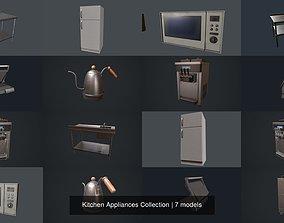 Kitchen Appliances Collection 3D PBR