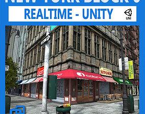 3D asset NYC Block 6 Unity