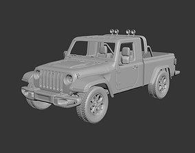 3D printable model Jeep Gladiator Two-Door