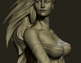 model sculpture girl 3D print