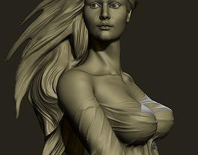 model sculpture girl 3D print