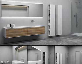 3D model Bathroom furniture set Panta Rel 7