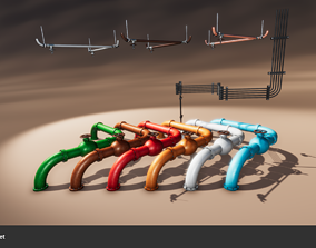 Pipes and Cables 3D model