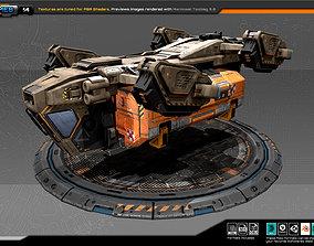 3D asset RTS Freighter - 14