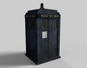 tardis Tenth Doctor TARDIS 2008 3D asset