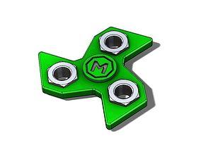 3D model Fidget Spinner engineering-parts