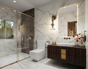 3D Bathroom Design Blender File
