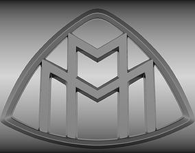 3D Maybach logo