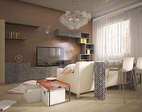 Interior House Milan 3D model