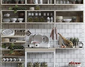3D model Kitchen 12 flowerpot