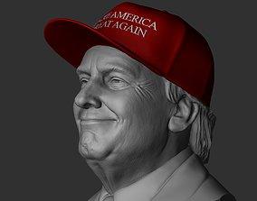 3D print model Donald Trump - Make America Great Again