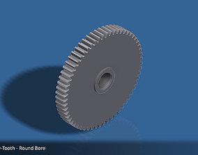 3D printable model 60-Tooth Spur Gear 03
