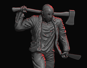 JASON FROM FRIDAY13TH 3D printable model