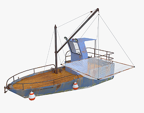 3D model Chaland 6m