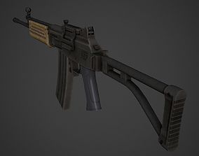 3D model Galil AR Low Poly