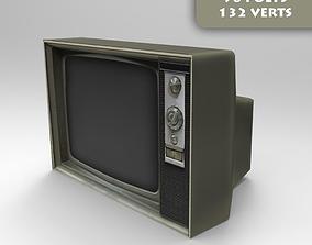 3D model VR / AR ready ready Old Tv