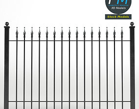 Iron Fence 3D PBR
