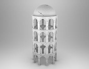 Ancient Greek tower 3D print model