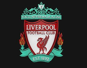 Liverpool FC Logo Footbal Club 3D