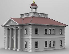 Ionic Building 3D model