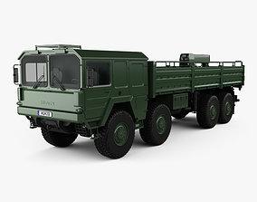 MAN KAT I Military Flatbed Truck 4-axle 1976 3D