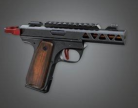 3D asset FPS Modern Handgun - MHG - Devastator - PBR Game
