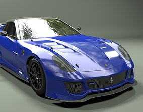 ferrari 599 3D model