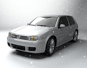 3D model Volkswagen Golf 4 R32