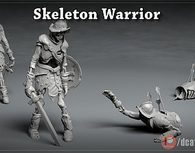 Skeleton Knight - DnD Monster - 2 Poses 3D print model