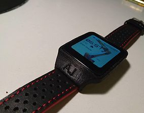 Watchband adapter for Sony Smartwatch 3 3D print model