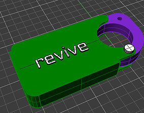 3D printable model KEY CHAIN COVID 19 CASE