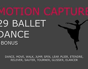 3D model Ballet motion capture
