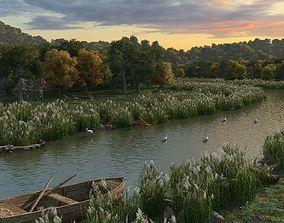 3D model animated Wetlands