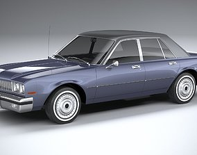 Generic American Classic sedan 1970 3D