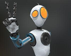 3D asset rigged Jim the Robot