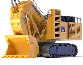 Komatsu PC8000 Shovel 3D model