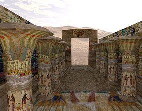 pharaonic city location 3D model