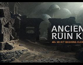 Ancient Ruin Kit - 40 plus Elements 3D