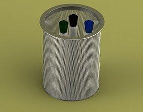 Mesh Pen Holder 3D model