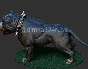 pit bull 3D printable model