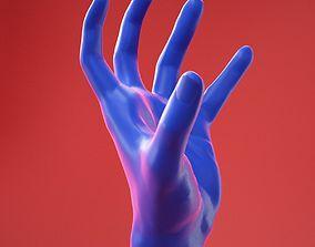 Male Hand 29 3D model