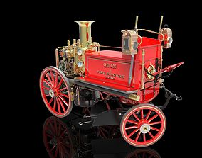 SHAND MASON STEAM POWERED FIRE ENGINE 3D print model