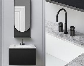 Washbasins Furniture 3d model VR / AR ready