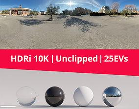 3D model HDRi Church Buildings and Street Art