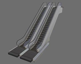 Animated Escalator 3D architectural