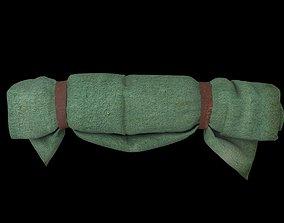 3D asset realtime Hanging blanket